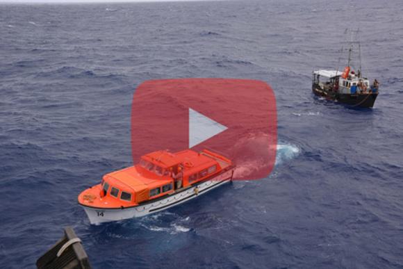 ATS rettet Seeleute