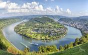 Rhein Schleife nähe Boppard